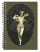 Absinthe Fairy  Spiral Notebook