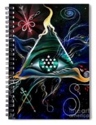 Absolute - Creator Of The Universe  Spiral Notebook