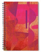 Abstraction 1 Spiral Notebook