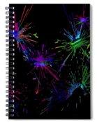 Abstact 392 Spiral Notebook