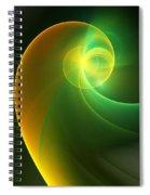 Abstrac3 080210 Spiral Notebook