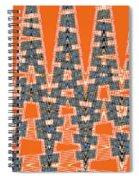 Abstract # 2060ew4a Spiral Notebook