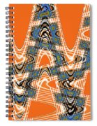Abstract # 2060ew4bc Spiral Notebook