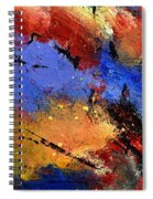 Abstract 012110 Spiral Notebook
