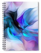 Abstract 012513 Spiral Notebook