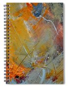 Abstract 015011 Spiral Notebook
