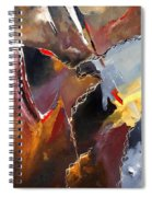 Abstract 020606 Spiral Notebook