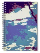 Abstract 021 Spiral Notebook