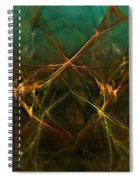 Abstract 031211 Spiral Notebook
