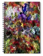 Abstract 032215 Spiral Notebook