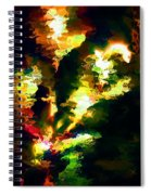 Abstract 032311 Spiral Notebook