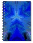 Abstract 032811-2 Spiral Notebook