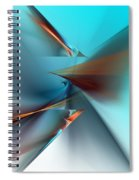 Abstract 040411 Spiral Notebook