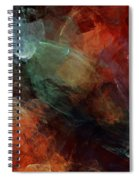 Abstract 042211 Spiral Notebook