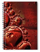 Abstract 0423c Spiral Notebook