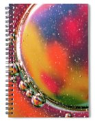Abstract 0423d Spiral Notebook