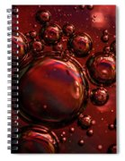 Abstract 0423f Spiral Notebook