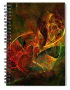 Abstract 051011 Spiral Notebook