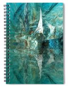 Abstract 051515 Spiral Notebook