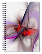Abstract 051610 Spiral Notebook
