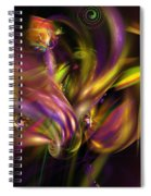 Abstract 05171 Spiral Notebook