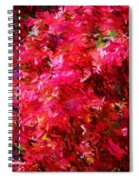 Abstract 052310 Spiral Notebook
