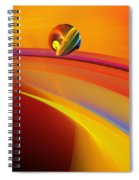 Abstract 052311 Spiral Notebook