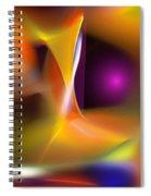 Abstract 052411b Spiral Notebook