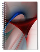Abstract 052510 Spiral Notebook
