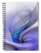 Abstract 053110 Spiral Notebook