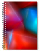 Abstract 060110 Spiral Notebook