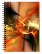 Abstract 060110a Spiral Notebook