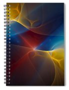 Abstract 060410 Spiral Notebook