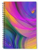 Abstract 060611b Spiral Notebook