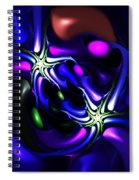 Abstract 060810f Spiral Notebook
