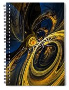 Abstract 060910 Spiral Notebook