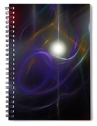 Abstract 062111 Spiral Notebook