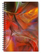 Abstract 062910a Spiral Notebook