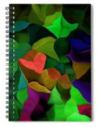 Abstract 063016 Spiral Notebook