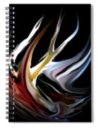 Abstract 07-26-09-c Spiral Notebook
