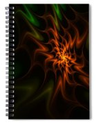 Abstract 070110 Spiral Notebook
