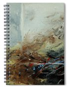 Abstract 070408 Spiral Notebook