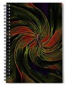 Abstract 070810a Spiral Notebook