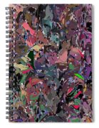 Abstract 070915 Spiral Notebook