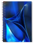 Abstract 071310 Spiral Notebook