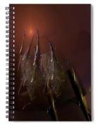 Abstract 072011a Spiral Notebook