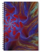 Abstract 073010 Spiral Notebook
