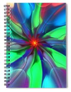 Abstract 080610c Spiral Notebook