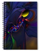 Abstract 080710 Spiral Notebook