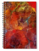 Abstract 081310 Spiral Notebook